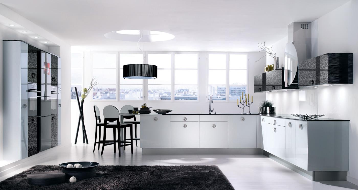equinoxe laqu noir brillant. Black Bedroom Furniture Sets. Home Design Ideas